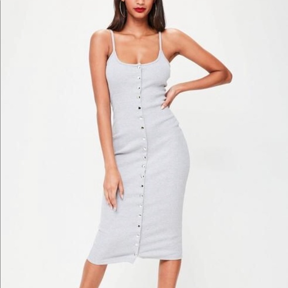 78cd92d8eebe Missguided Dresses | Flash Sale Button Down Bodycon Dress | Poshmark